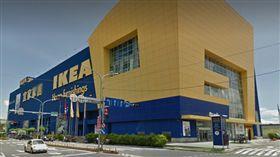 新莊IKEA外觀(圖/翻攝Google Map)