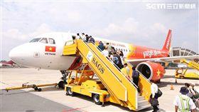 越捷航空,Vietjet Air。(圖/越捷提供)