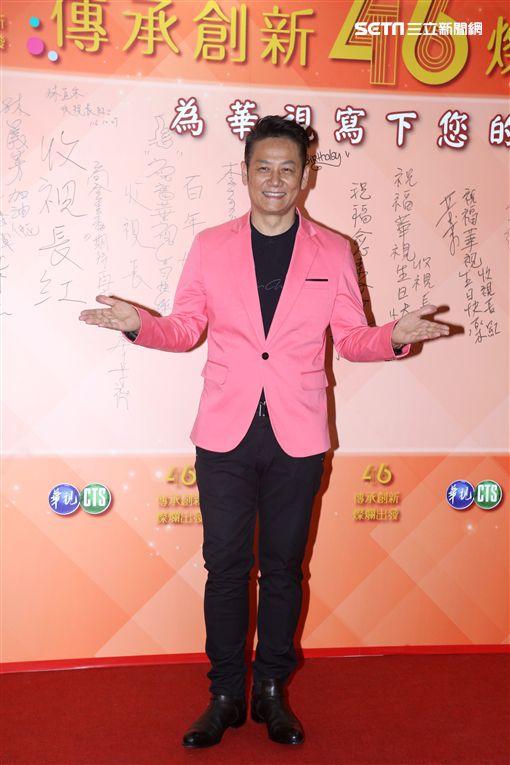 20171027-徐乃麟 張小燕 黃子佼出席華視46周年台慶