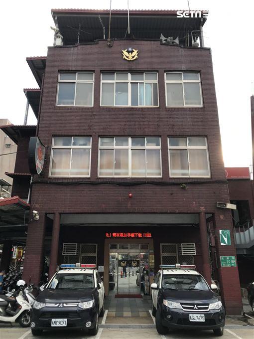 台北市萬華分局漢中所外觀(楊忠翰攝)