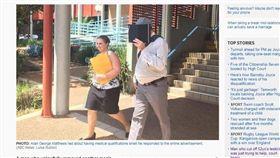 割睪丸免錢!飛機技師無照手術幫「男→女」 法官判他免關 圖翻攝http://www.abc.net.au/news/2017-10-27/man-who-cut-off-another-testicle-was-trying-to-help/9093286自澳洲廣播公司