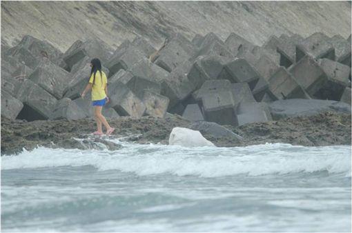 公德心,宜蘭,外澳,雙獅,垃圾,海灘,海邊 圖/翻攝自臉書