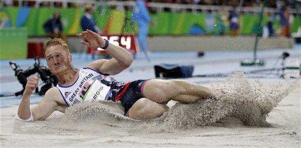 ▲Greg Rutherford為英國田徑老將,但對於2020東京奧運是否參賽,他與帶保留。(資料照/美聯社/達志影像)