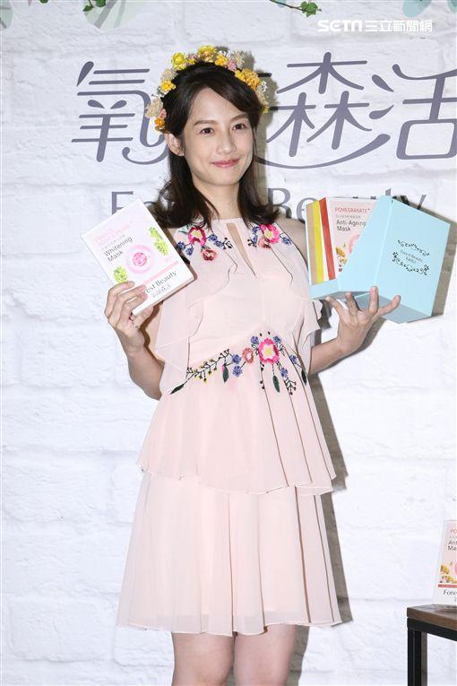 20171028- 簡嫚書挺六月大肚出席斑斓森呼吸一日店長活動
