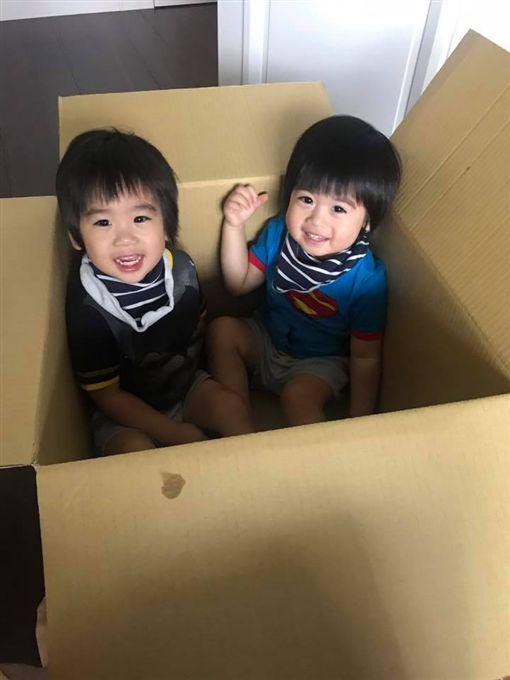 林志穎,Jenson,Kyson(圖/翻攝自林志穎臉書)