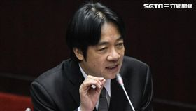 行政院長賴清德27日前往立法院接受備詢 圖/記者林敬旻攝