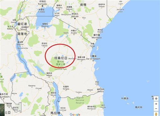 非洲坦尚尼亞(圖/翻攝自Google Map)