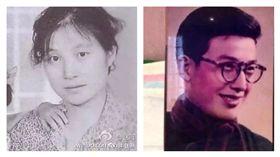 趙薇分享父母年輕時老照片,網友大讚一家人顏值都很高。(翻攝自照微微博)