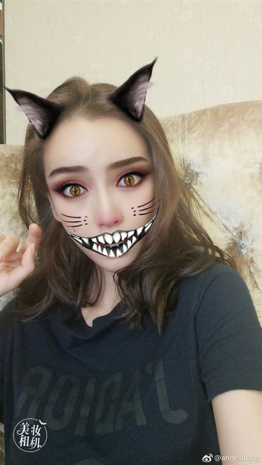 Angelababy(翻攝自Angelababy微博)
