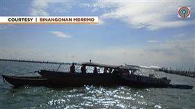 船上同學會,翻船,菲律賓,貝湖 圖/翻攝自《ABS-CBN News》