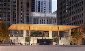 apple,chicago,芝加哥,Apple store,iPhoneX,鳥,自撞,芝加哥 圖/翻攝自Apple官網