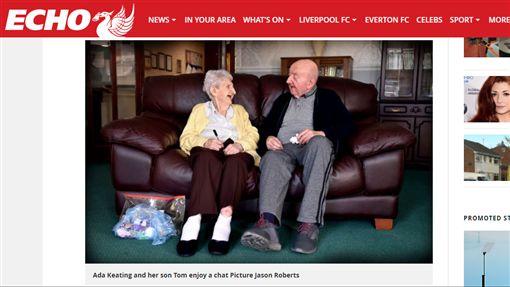 英國80歲媽寶,98歲媽陪入住療養院,老人(liverpoolecho http://www.liverpoolecho.co.uk/news/liverpool-news/mum-aged-98-moves-care-13825533)