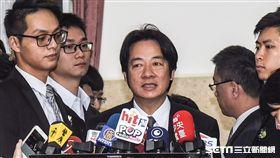 行政院長賴清德前往立法院備詢 圖/記者林敬旻攝