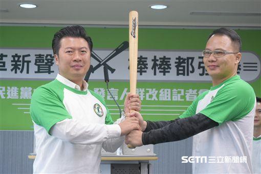 民進黨發言人中國事務部副主任林琮盛,張志豪 圖/記者林敬旻攝