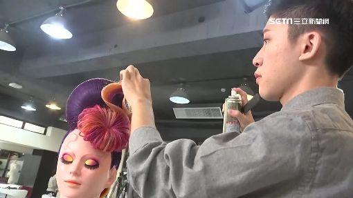 不讓媽失望! 大二生國際美髮賽奪冠