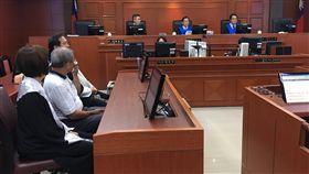 蘇炳坤案再審  高院全程開放錄影台灣高等法院19日開庭審理蘇炳坤懲治盜匪條例聲請再審案宣示裁定,高院首度開放媒體進入法庭全程錄影、照相。中央社記者張皓安攝  106年9月19日
