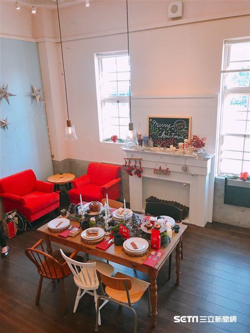 星巴克,耶誕居家星體驗展,Starbucks At Home。(圖/記者簡佑庭攝)