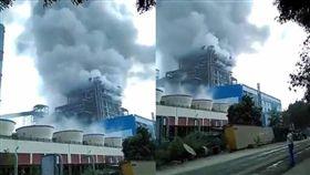 印度,發電廠,爆炸,火力發電廠,Unchahar,NTPC 圖/翻攝自推特