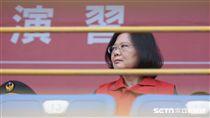 小巨蛋台北世大運反恐演練,總統蔡英文蒞臨視導 圖/記者林敬旻攝