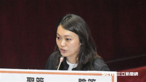 親民黨立法委員陳怡潔 圖/記者林敬旻攝