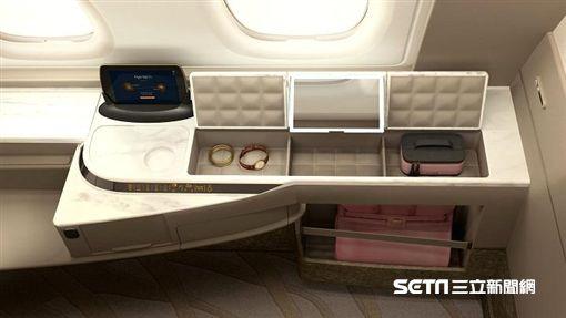新加坡航空,新航全新客艙,A380客機。(圖/翻攝自網路)