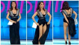 羅馬尼亞,主持人,凡蒂琪,Ilinca Vandici(圖/翻攝自YouTube)