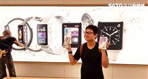 iPhone X 台北101 APPLE 蘋果直營店 葉立斌攝