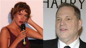溫斯坦(Harvey Weinstein),帕茲德拉維爾塔(組圖/翻攝自TrumpTrain45Pac推特、維基百科)