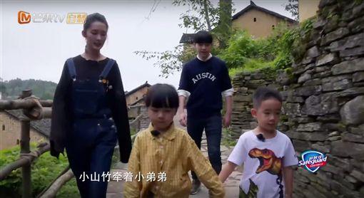 爸爸去哪兒5,Jasper,小小春,小山竹,鄧倫,李沁(圖/翻攝自湖南衛視芒果TV官方頻道 YouTube)
