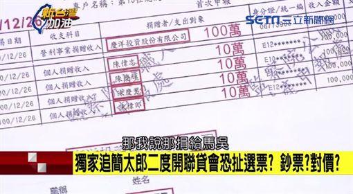 出示帳戶資料佐證!王定宇:慶陽捐百萬到馬吳競選總部 ID-1121815