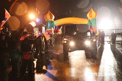 陸軍第六軍團269旅完成「長青16號」操演 回營受夾道歡迎 陸軍司令部提供 ID-1122043