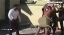 鞭刑(圖/翻攝自黑衣會youtube)