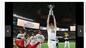 ▲軟銀鷹獲得日本一頭銜。(圖/截自日本媒體)