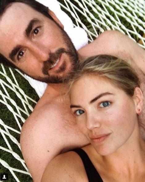 ▲波神凱特奧普頓和王牌投手韋蘭德浪漫完婚。(圖/翻攝自IG)