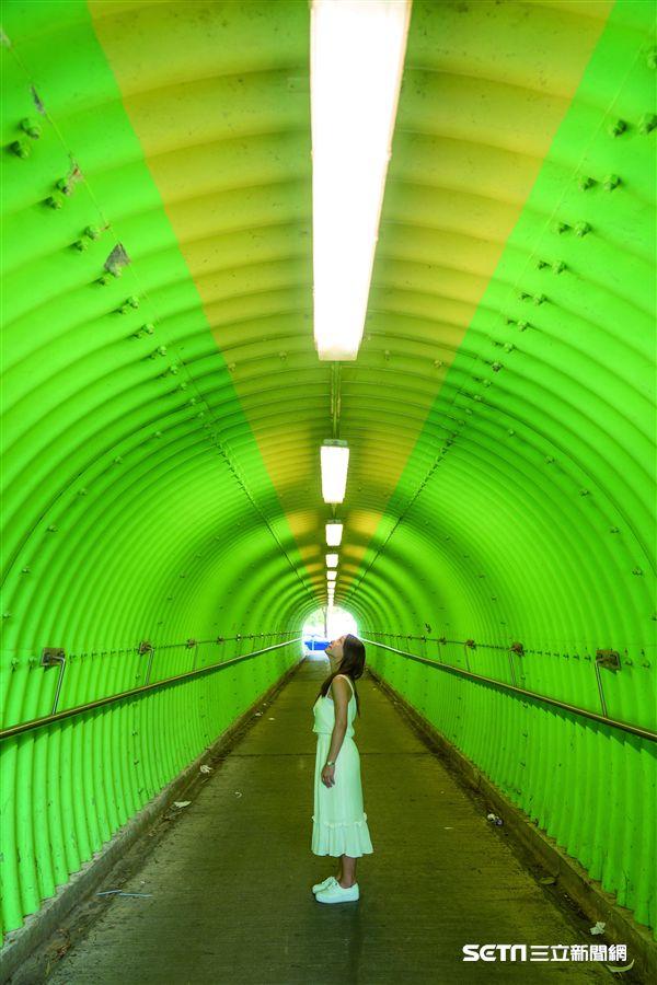 香港10大IG打卡景點:元朗綠色隧道。(圖/港旅局提供)