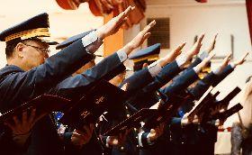新任分局長布達 朱立倫期勉為市民努力