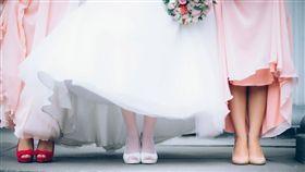 結婚、婚禮、伴娘/達志影像/pixabay