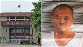 台中監獄台中監獄外役監逃犯,王敏旭,合成圖/維基百科、警方提供