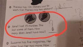 美國,小學,功課,數學,教育,題目,老師,Janell,擲杯,Dusty Sappington 圖/翻攝自Reddit
