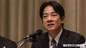 行政院長賴清德召開「排除企業投資障礙五缺之缺地」記者會 圖/記者林敬旻攝