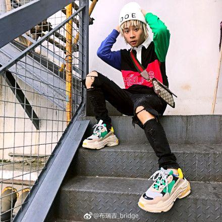 《中國有嘻哈》  布瑞吉_bridge 微博