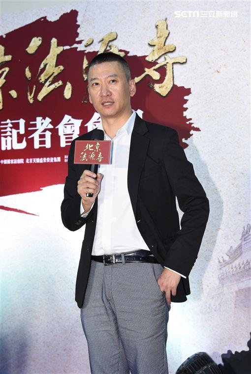 舞台劇北京法源寺舉辦開演記者會,主要演員周杰.賈一平.奚美娟.黃小立.張岩出席亮相