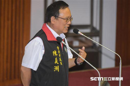 台北市議員陳義洲 圖/記者林敬旻攝