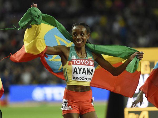 ▲衣索比亞長跑女將Almaz Ayana。(圖/美聯社/達志影像)
