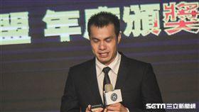 中華職棒年度頒獎典禮張正偉 圖/記者林敬旻攝