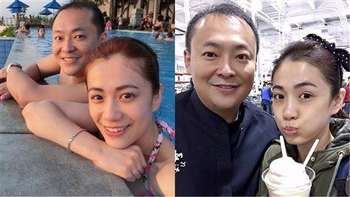 柯以柔與郭宗坤婚姻岌岌可危。(合成圖/翻攝自臉書) ID-1127316