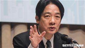 行政院長賴清德主持《排除企業投資障礙穩定供水策略記者會》 圖/記者林敬旻攝