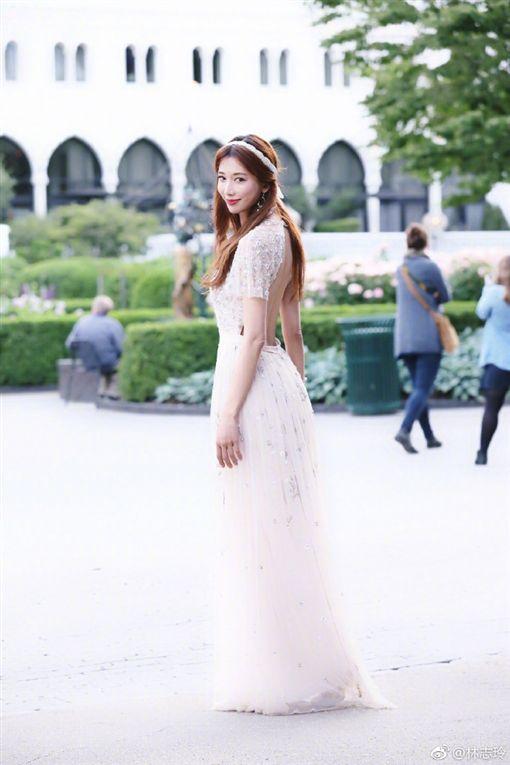 林志玲/翻攝自微博
