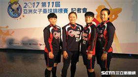 ▲中華隊最年輕的蘇奕璇、林志霙、顏逸與蔡珈蓁。(圖/記者林辰彥攝影)