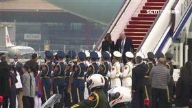 亞洲行第三站!川普飛抵北京 習近平故宮設宴